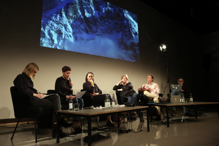 """Middle Session: The Elemental Middle"" at transmediale 2017"