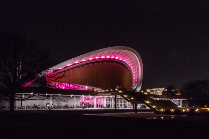 Haus der Kulturen der Welt during transmediale 2019