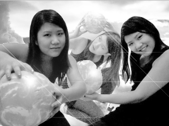 Jennifer Chan, Self-portrait in Photo Booth Version 3.03