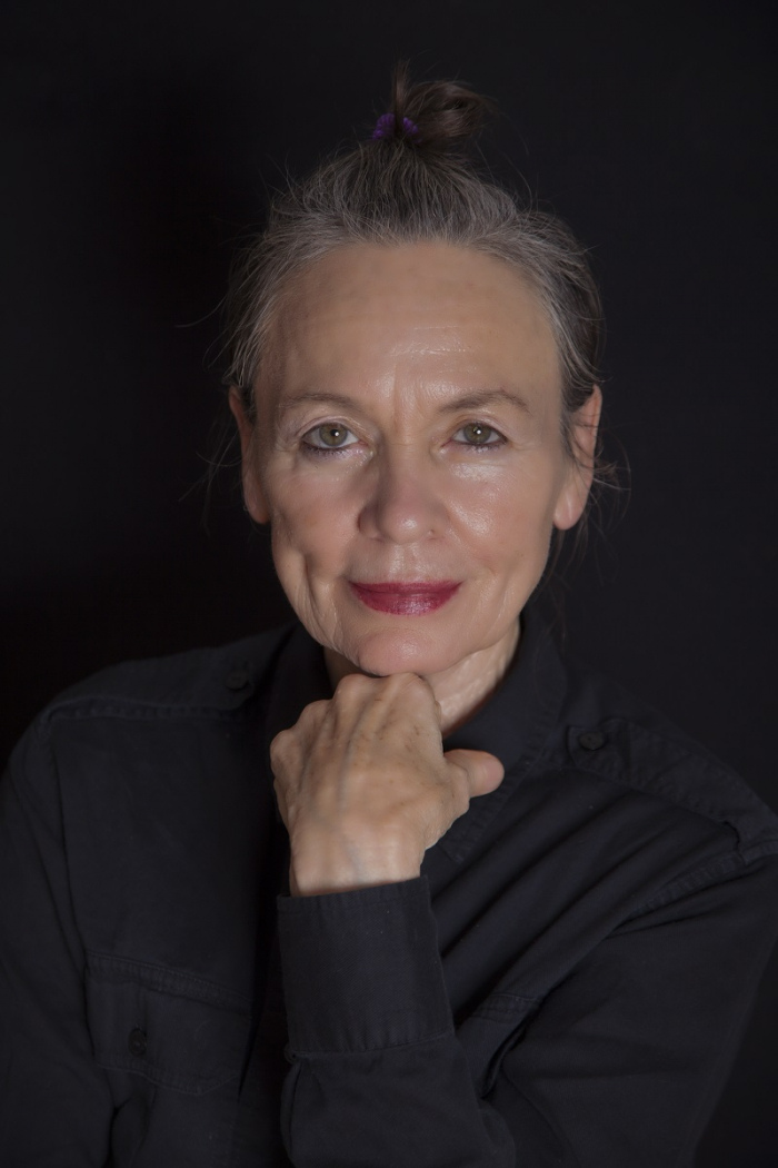Portrait of Laurie Anderson.