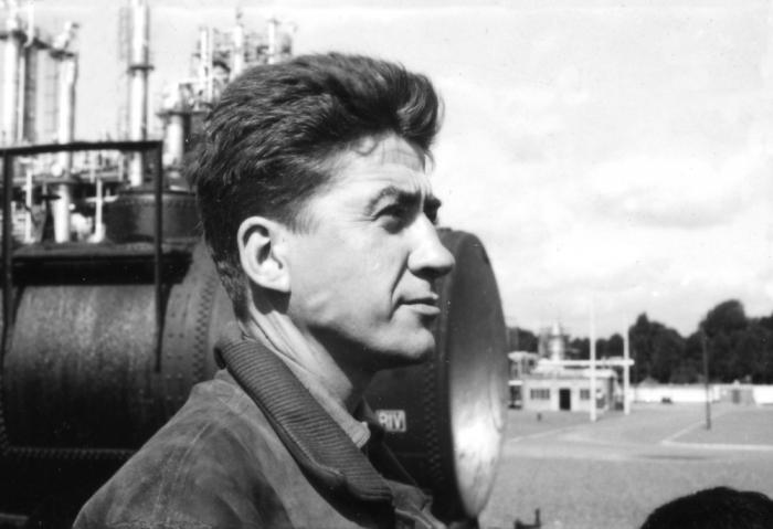 Portrait of Alain Resnais.