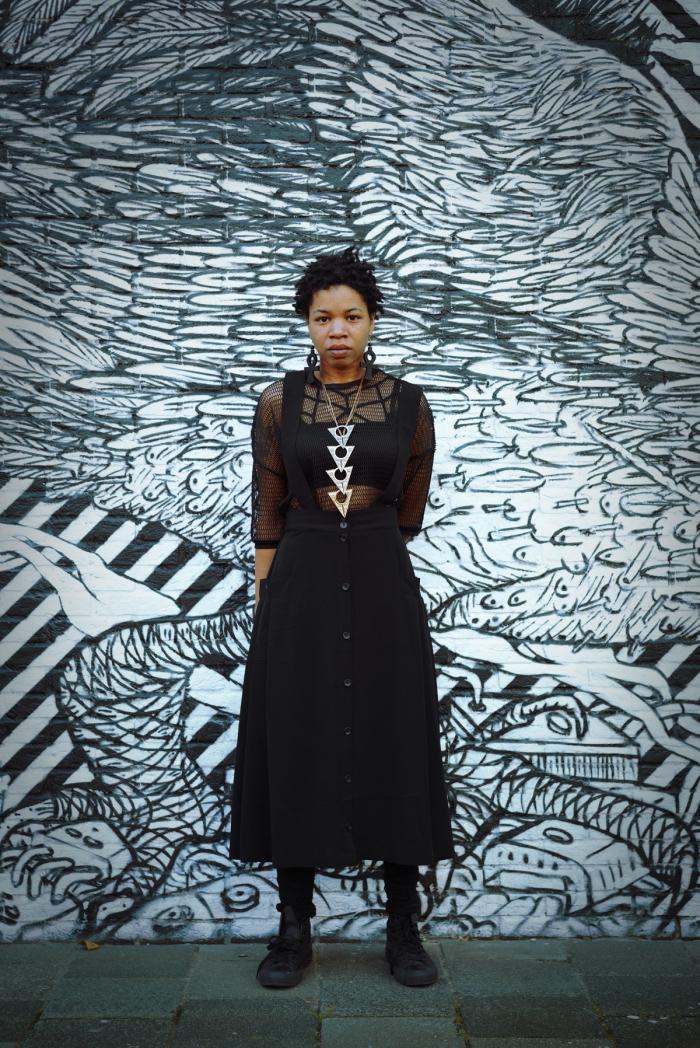 Portrait of Rasheedah Phillips.