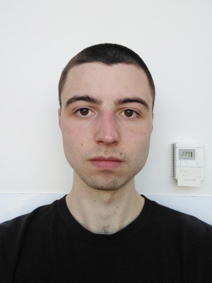Portrait of Garrett Lockhart