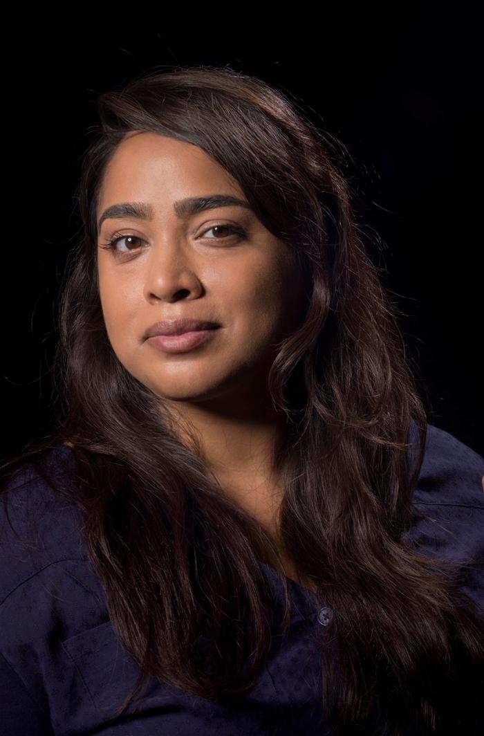 Portrait of Nora N. Khan.