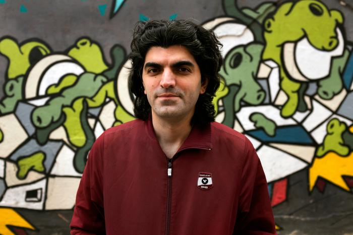 Portrait of Bager Akbay
