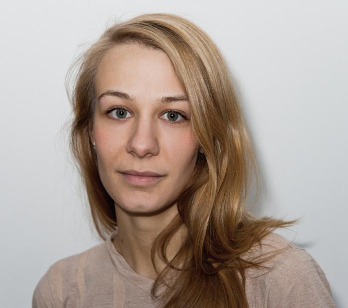 Portrait of Elvia Wilk.