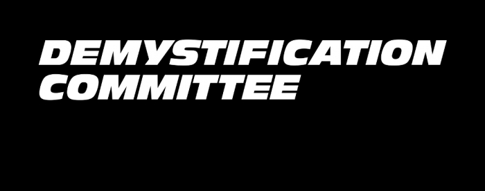 Demystification Committee
