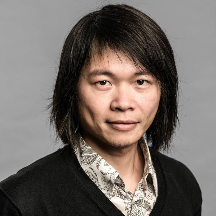 Portrait of Yuk Hui